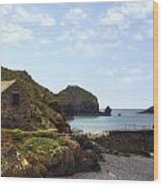 Cornwall - Mullion Cove Wood Print