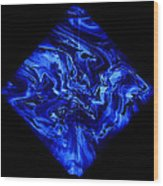 Diamond 209 Wood Print