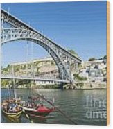 Dom Luis Bridge Porto Portugal Wood Print