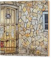 Doors Of Tel Aviv Wood Print
