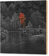 Eidsvoll In Norway Wood Print
