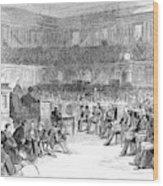 Electoral Commission, 1877 Wood Print