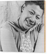 Ella Fitzgerald (1917-1996) Wood Print