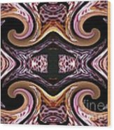 Empress Abstract Wood Print