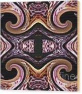 Empress Abstract Wood Print
