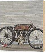 Excelsior Board Track Racer II Wood Print