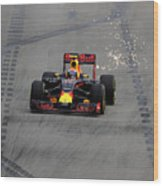 F1 Grand Prix of Singapore - Qualifying Wood Print