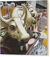 Feira De Porcelano Chinesa Wood Print