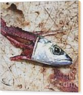Fish Bait Wood Print