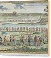 Flagellants Middle Ages Wood Print