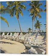 Florida Keys Wood Print