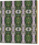 Flowers From Cherryhill Nj America Silken Sparkle Purple Tone Graphically Enhanced Innovative Patter Wood Print