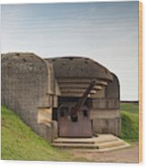 France, Normandy, D-day Beaches Area Wood Print