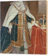 George II (1683-1760) Wood Print
