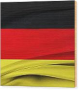 German Flag Wood Print