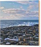 Giant's Causeway Coast Wood Print