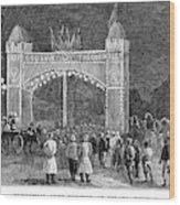 Golden Jubilee, 1887 Wood Print