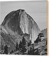 Half Dome Wood Print by Cat Connor