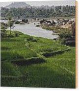 Hampi Landscape Wood Print