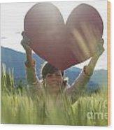 Heart Wood Print