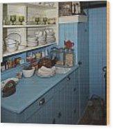 Heritage Cottage Museum On Bowen Island Wood Print