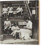 Hine Home Industry, 1912 Wood Print