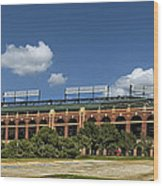 Home Of The Texas Rangers Wood Print