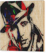 Humphrey Bogart Collection Wood Print