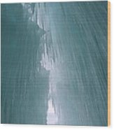 Ice Castle  Wood Print