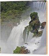Iguassu Falls Wood Print
