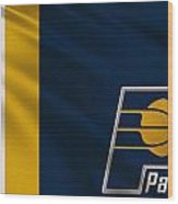 Indiana Pacers Uniform Wood Print