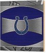 Indianapolis Colts Wood Print