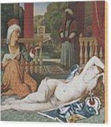 Ingres, Jean-auguste-dominique Wood Print