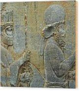 Iran Persepolis Wood Print