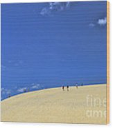 Jockey's Ridge State Park Wood Print