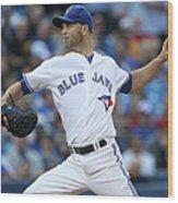 Kansas City Royals V Toronto Blue Jays Wood Print