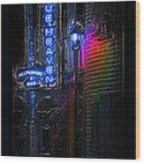 Key West Florida - Blue Heaven Rendezvous Wood Print