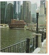 Lake Street Bridge Wood Print