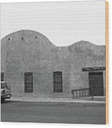 Las Vegas New Mexico Church Wood Print