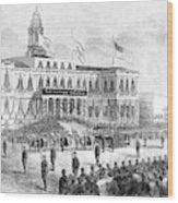 Lincoln's Funeral, 1865 Wood Print