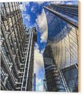 Lloyd's And Willis Group London Wood Print