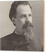 Man, 19th Century Wood Print