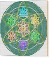 Mandala Is An Object It Is Your Spirit To Meditate And Be In Touch With Cosmic Forces That Matters Wood Print