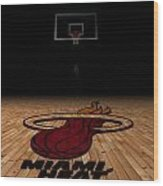 Miami Heat Wood Print