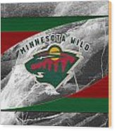 Minnesota Wild Wood Print