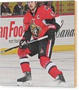 Montreal Canadiens V Ottawa Senators Wood Print