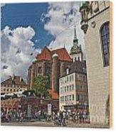 Munich Germany Wood Print