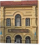 National Library In Nakorn Phanom Thailand Wood Print