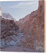 Natural Bridge Canyon Death Valley National Park Wood Print
