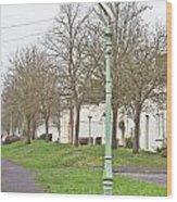 Neighborhood Wood Print